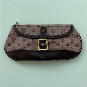 Louis Vuitton monogram canvas in pink pouchette